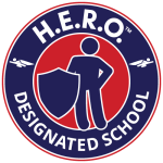 H.E.R.O. - Designated School Badge